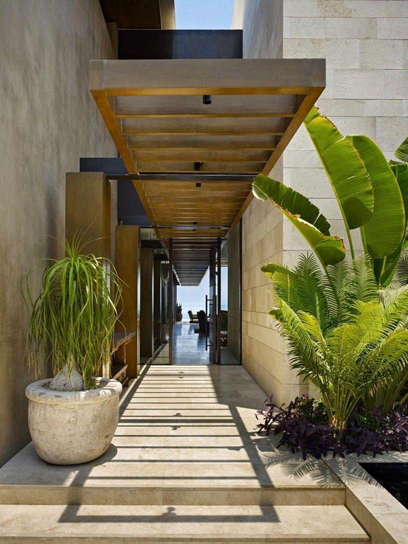 Decor Salteado - Blog de Decoração e Arquitetura : Casa de Praia Moderna no México!