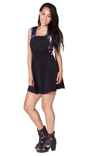 Womens Black Corduroy Dungaree Dress 8 10 12 14 Ladies Pinafore Skater Dress Dolls http://www.amazon.co.uk/dp/B00KM5NMYY/ref=cm_sw_r_pi_dp_g7pMvb0F9TQ5P