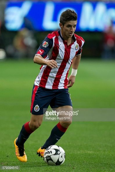 ZAPOPAN, MEXICO - JULY 23: Isaac Brizuela of Chivas drives the... #brizuela: ZAPOPAN, MEXICO - JULY 23: Isaac Brizuela of Chivas… #brizuela