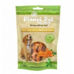 Planet Pet Snack Frutas Pollo y Zanahoria 70gr