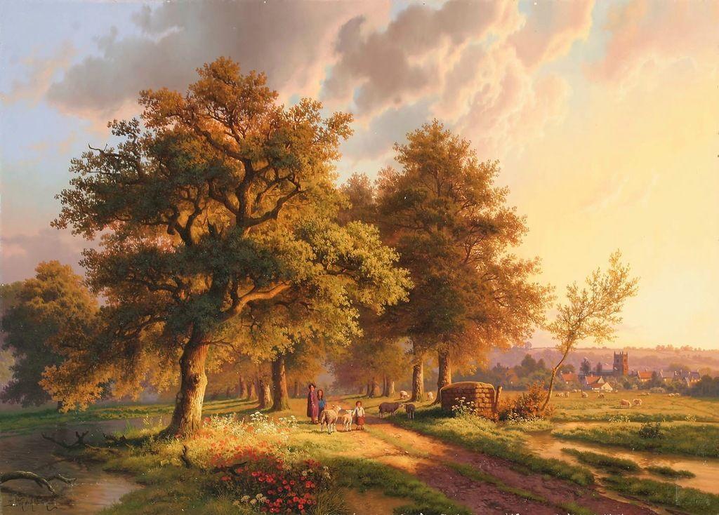российский пейзаж картинки великих художников этому, как это
