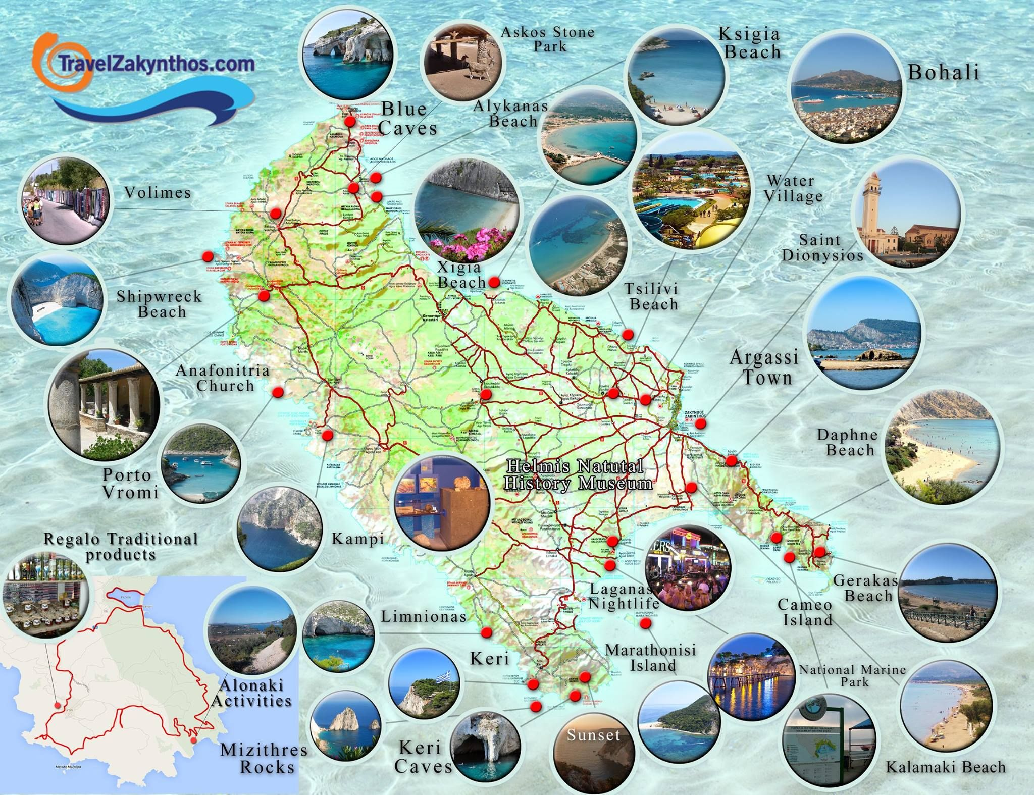 zakynthos Places to Visit Pinterest