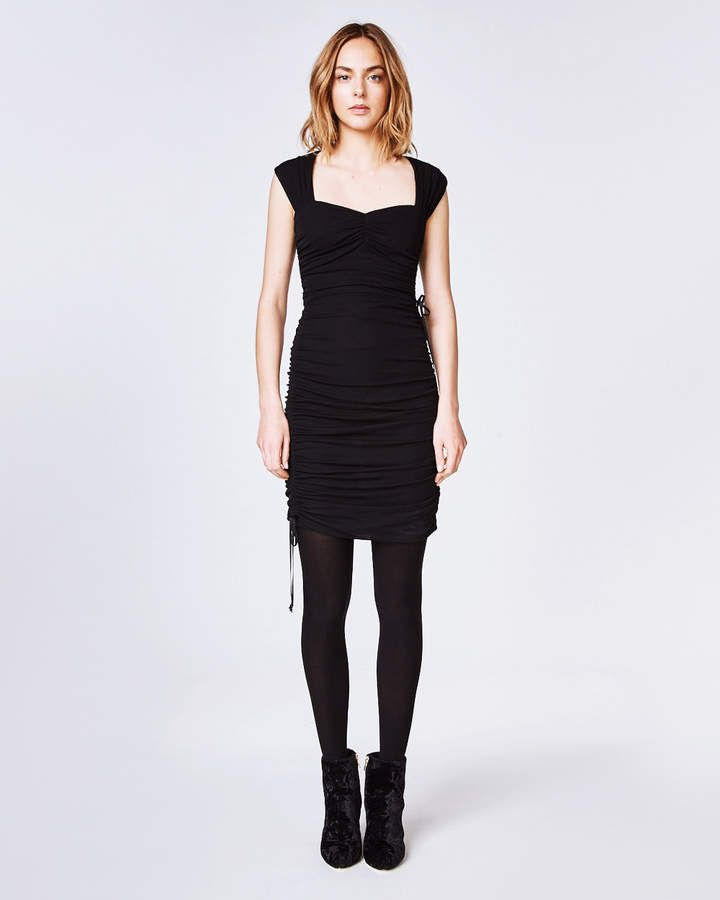 Nicole Miller Jersey Ruched Dress Fallwinter Ruched Dress