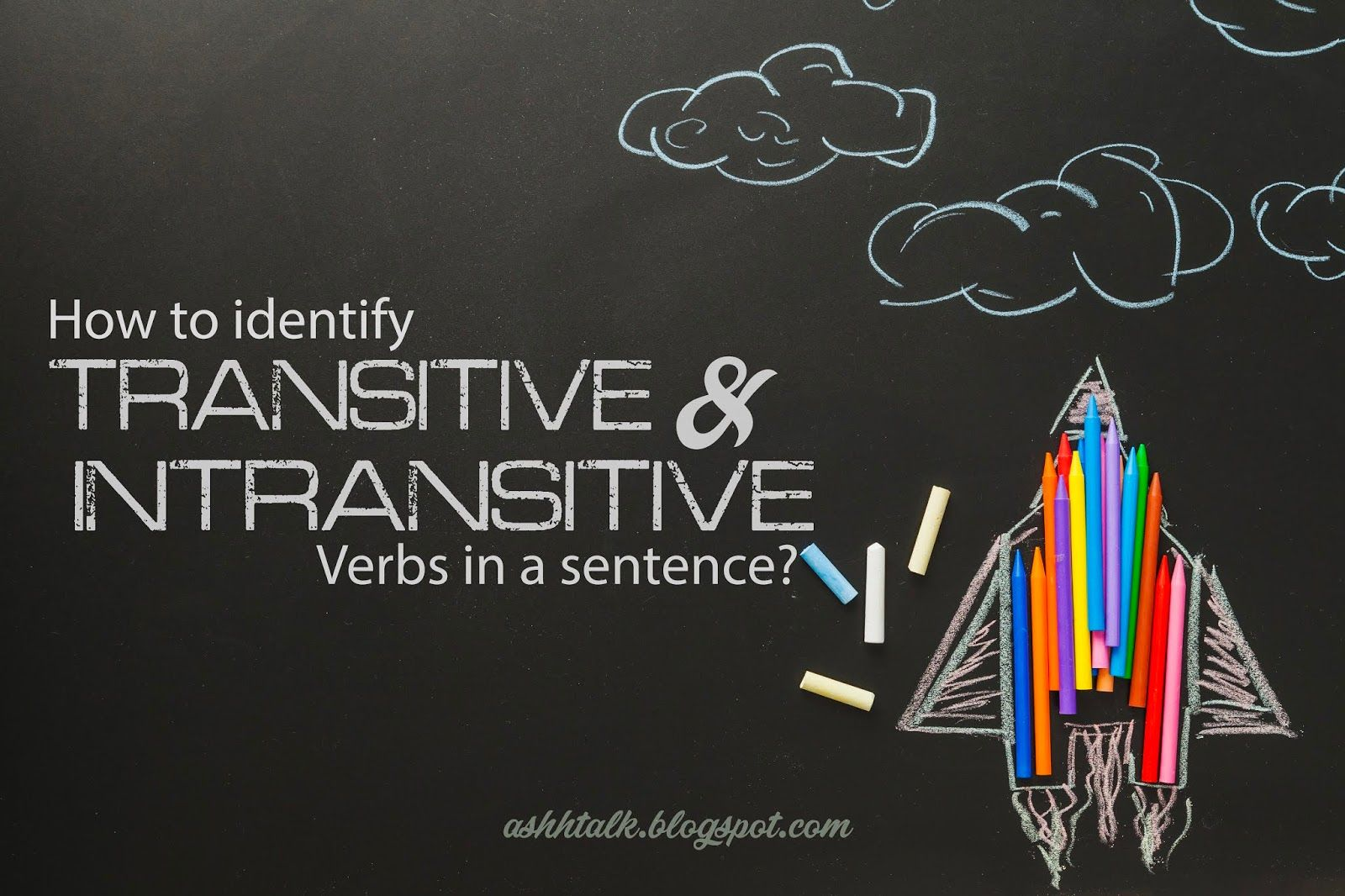 How To Identify Transitive And Intransitive Verb In A