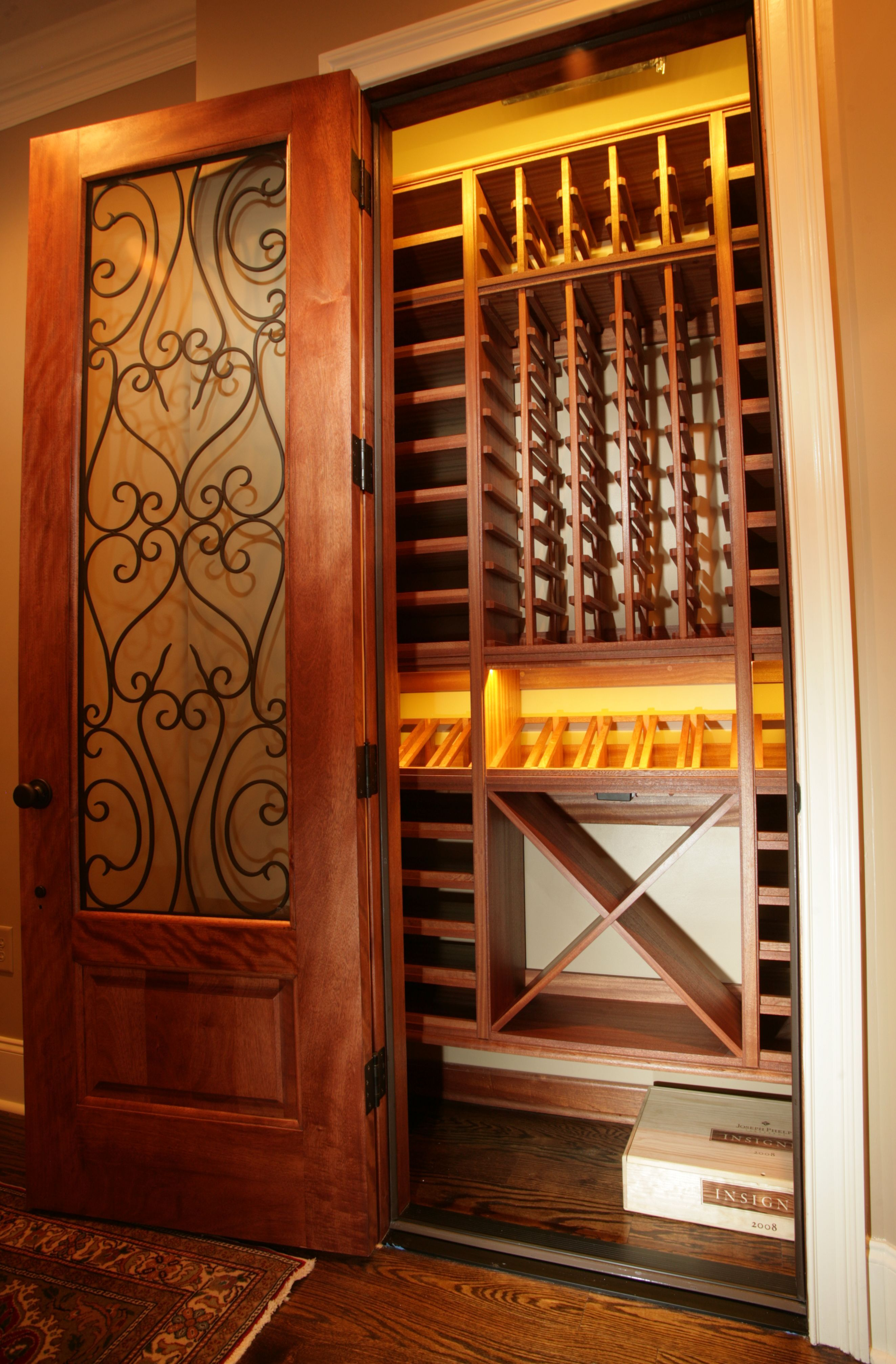 Wine Wall Display Racks Select Series By Kessick Wine Cellars Is A Wall Mounted
