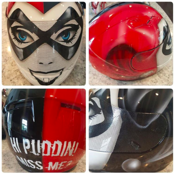 Harley Quin Motorcycle Helmets Motorcycle Helmets With Style