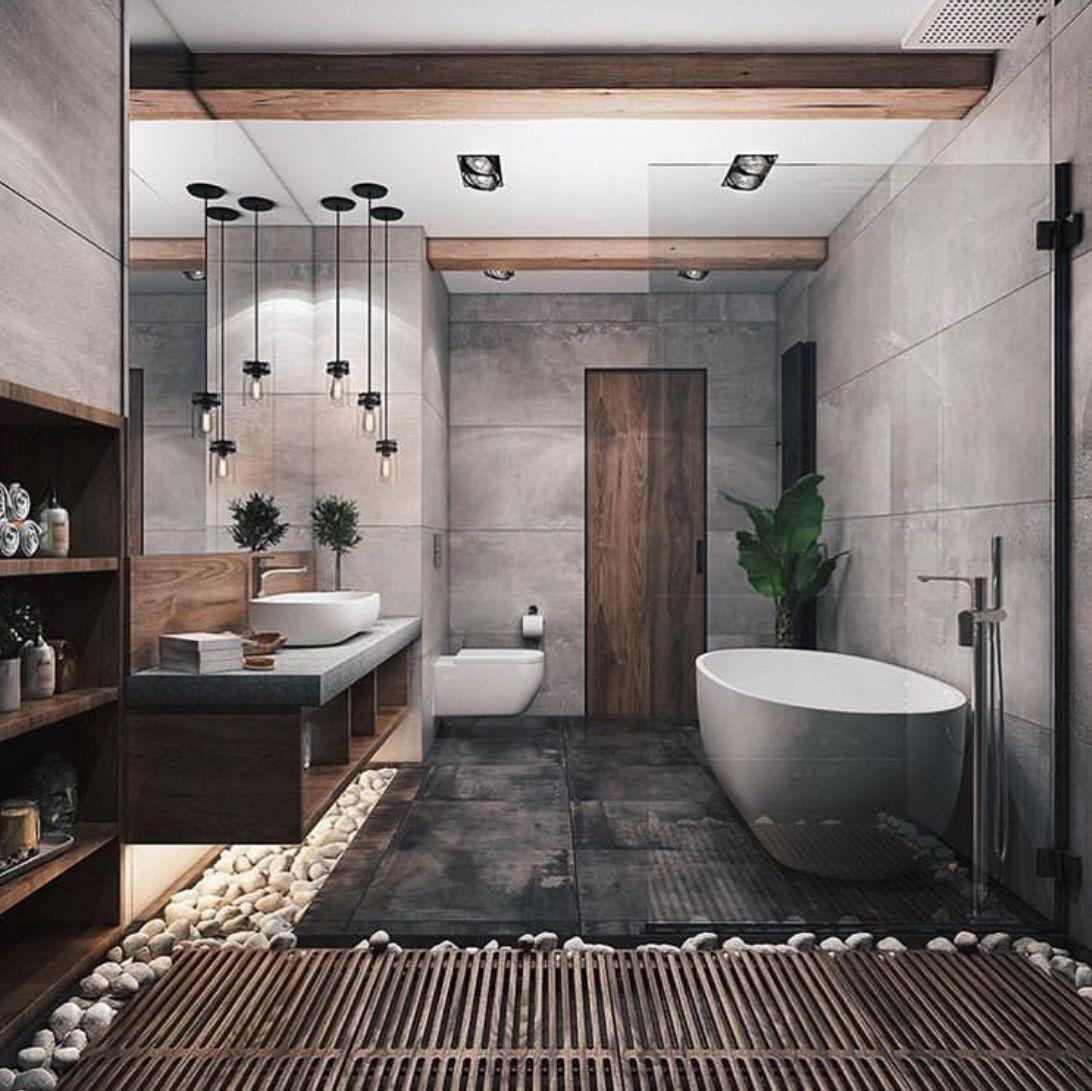 Pin By Ricky Wimenta On Design Bathroom Popular Bathroom Designs Bathroom Interior Design Modern Bathroom Design