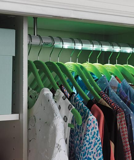 Shed Some Light: Canu0027t See Whatu0027s In Your Closets? An Easy