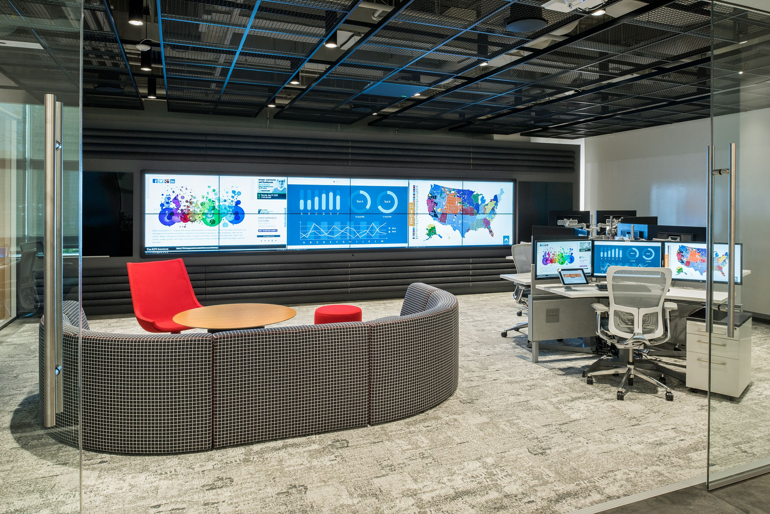 Showpiece Video Wall Integration And Command Center Furniture Gallery Security Room Video Wall Home Decor