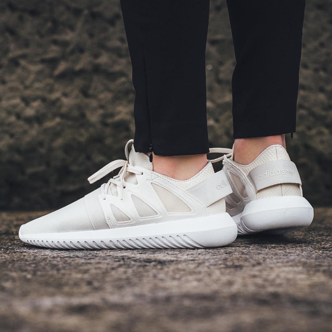adidas chalk white tubular viral sneakers
