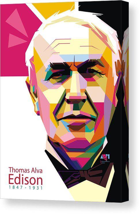 "/""I Didn/'t Fail.../"" Thomas Edison NEW Science MOTIVATIONAL Classroom  POSTER"