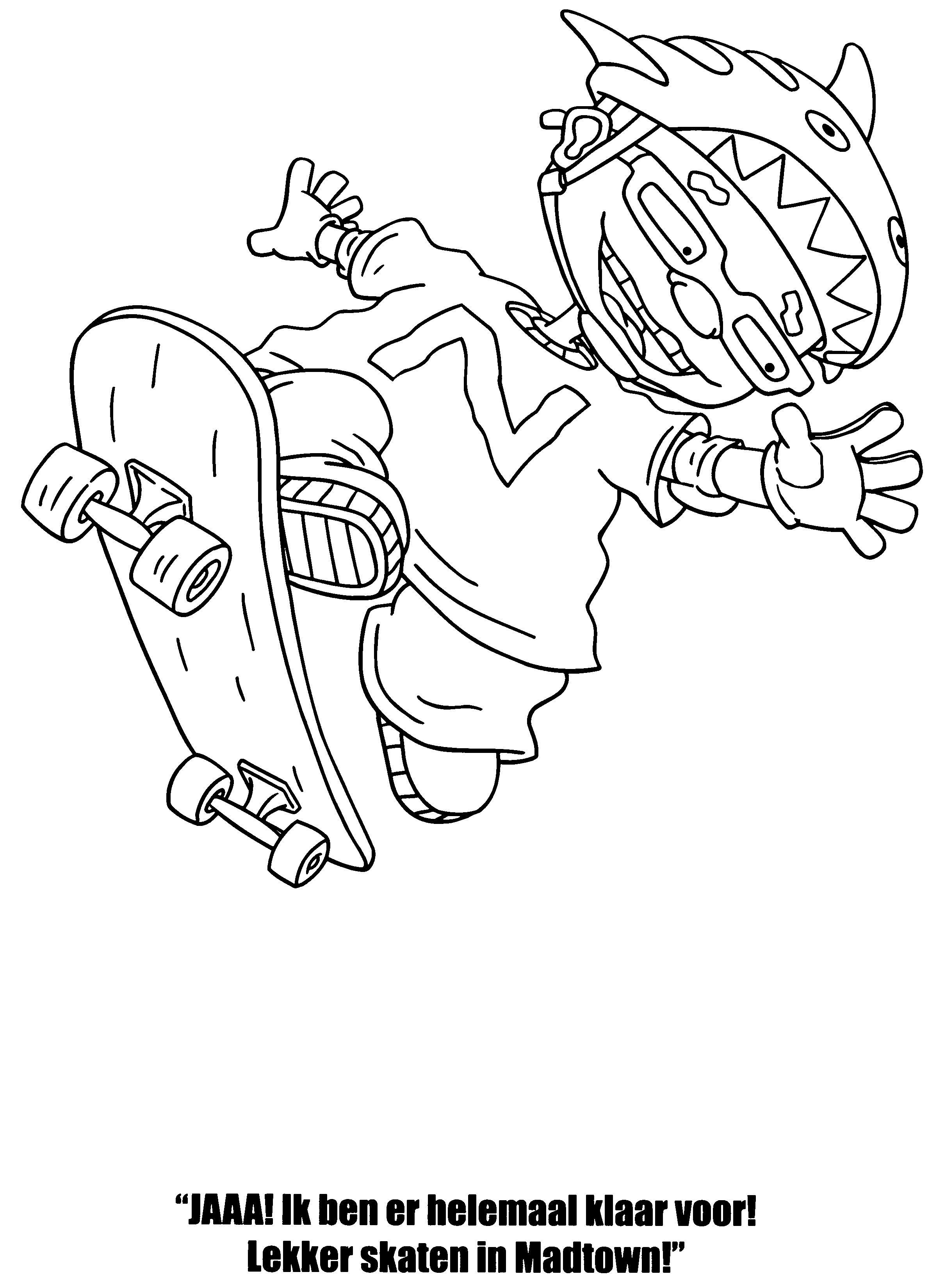 Desenhos Para Colorir Rocket Power 25 Desenhos Para Colorir Rocket Power Desenhos De Bonecas Tumblr