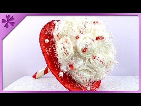 diy ferrero rocher blumenstrau valentinstag geschenk youtube geschenke geschenke. Black Bedroom Furniture Sets. Home Design Ideas