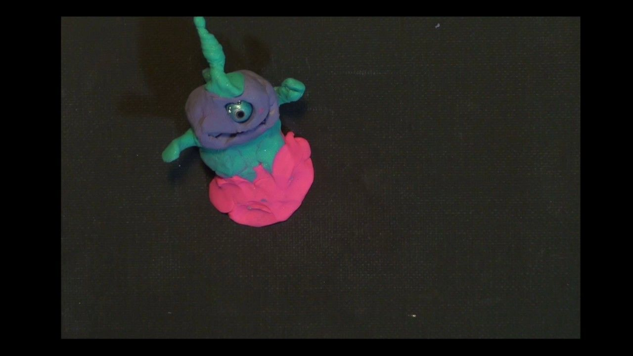 Claymation by IPC - Yokai Creature Rollover - Stop Frame Animation ...