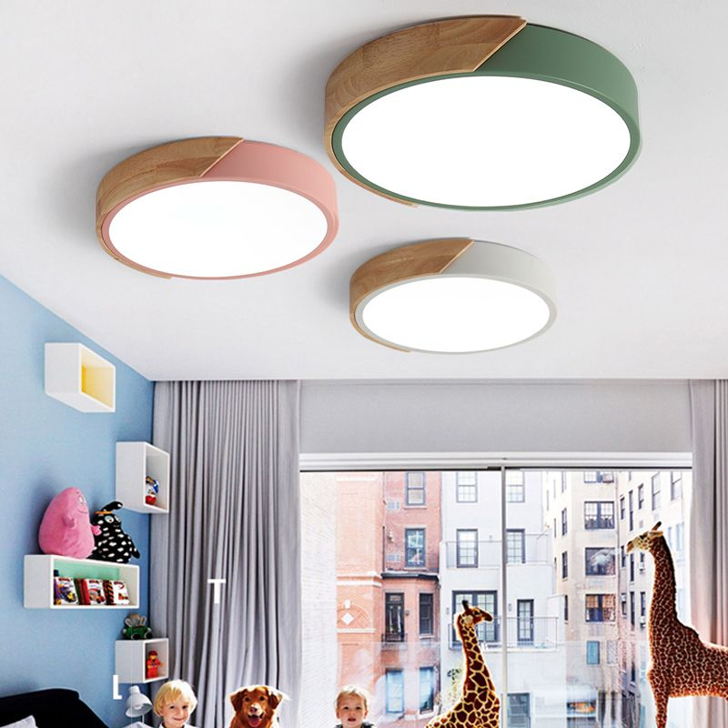 Free Shipping Dimmable Modern Minimalist Cheap LED Round ...