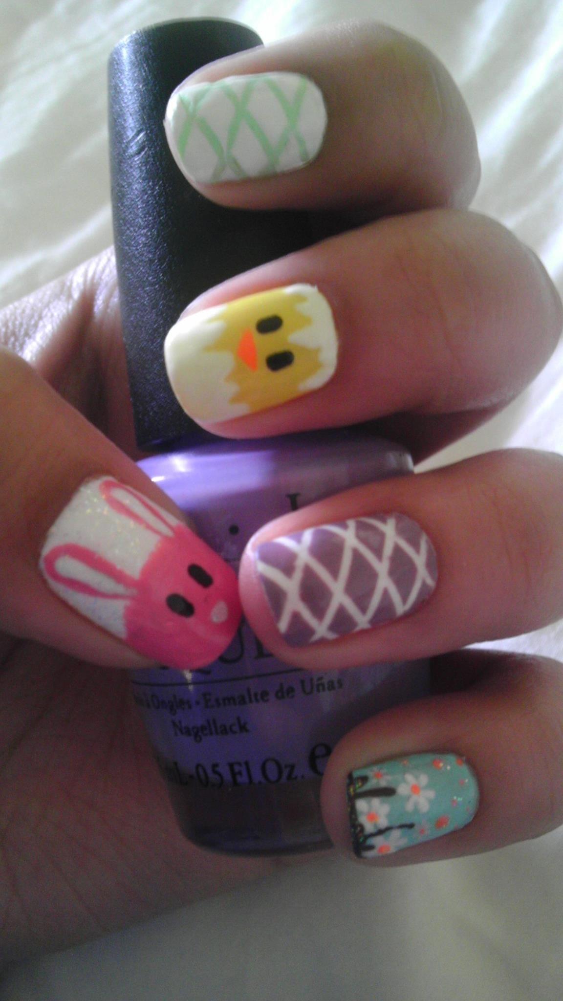 Easter Nail Art Holiday Nails