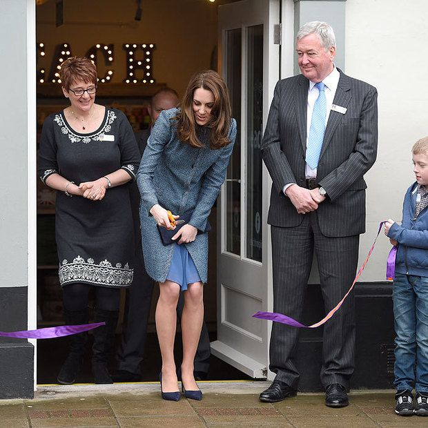 Kate Middleton buys gifts for Prince George and Princess Charlotte as she opens charity shop