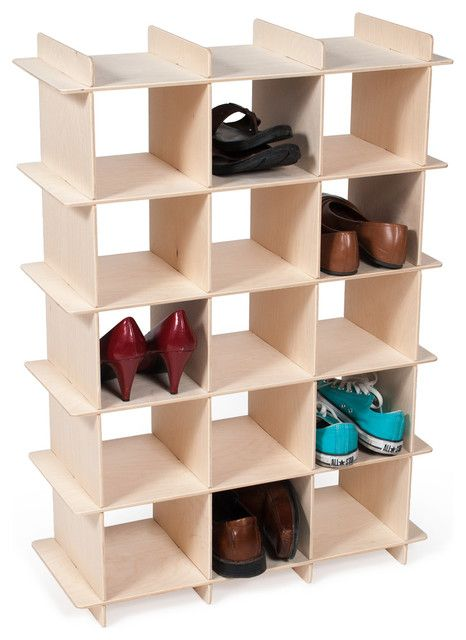 Made with plywood shoe rack. Can be taken apart and stored flat to save  space. 03b4b969df5f