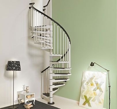 Venez Decouvrir L Escalier Colimacon Carre Genius Q40 Escalier