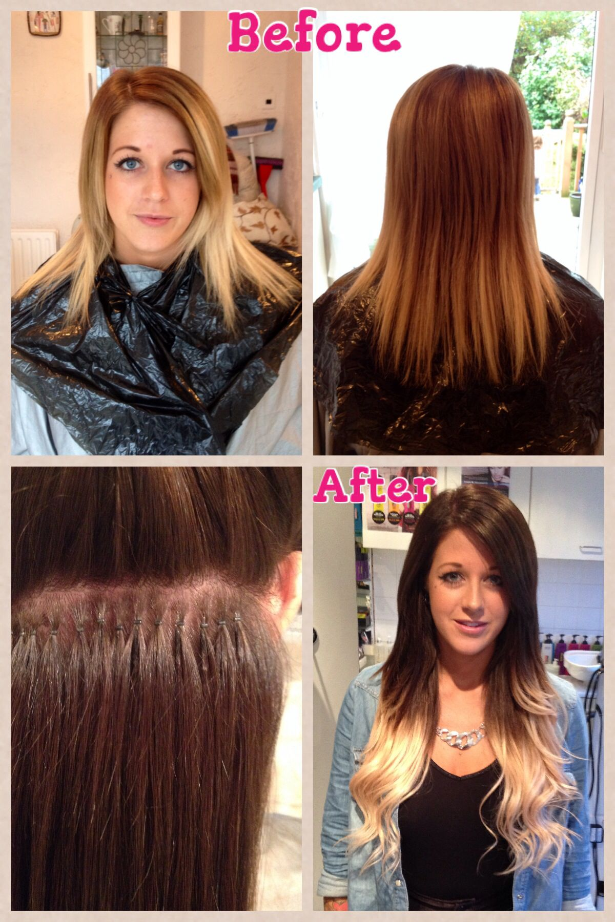 Nano Ring Hair Extensions By Eleanor Robyn Surreykent