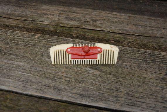 Sta-Neet Razor Comb vintage Hair Cutter by CindysPrairieOutpost