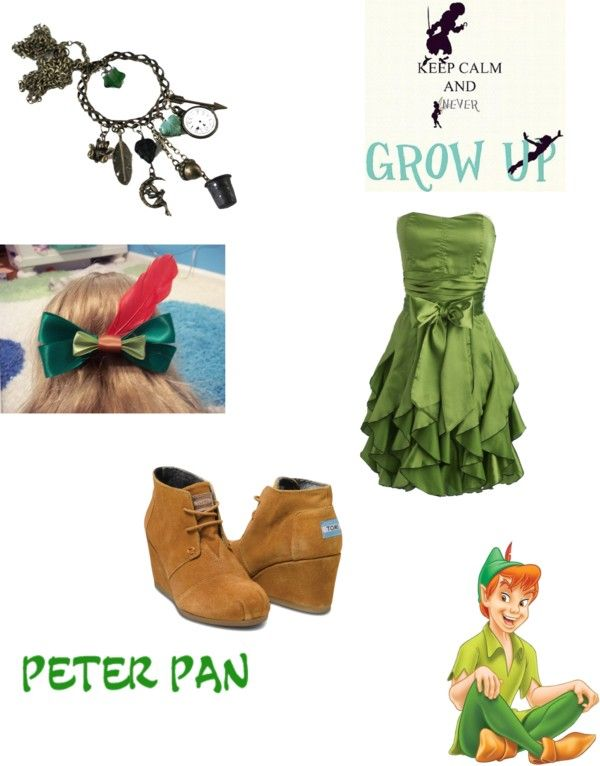 """""""peter pan"""" by aniitalopez ❤ liked on Polyvore"""