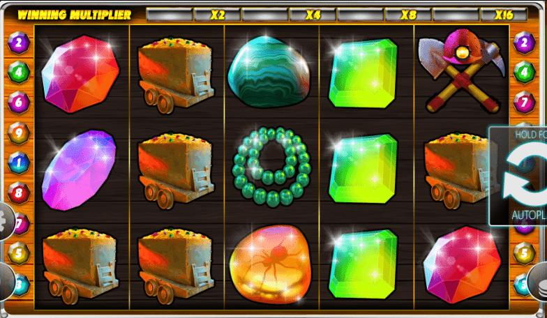 Lucky Miners Slot Machine