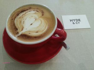 Hyde Co A Cafe On North Bridge Road Cafe Hyde Cappuccino