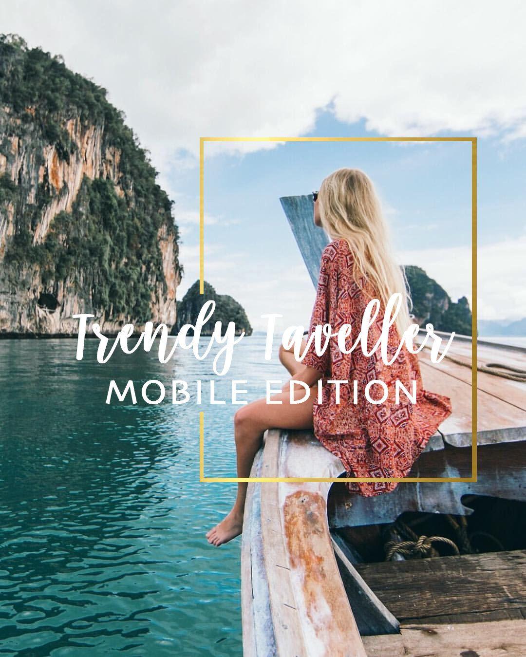 Trendy Traveler   Mobile Lightroom Preset Collection   PRESETS