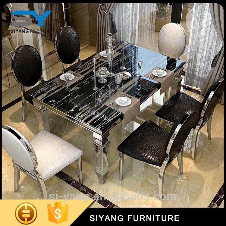 Cheap Glass Dining Tables: Cheap Dining Tables For Sale Set With Glass CT004