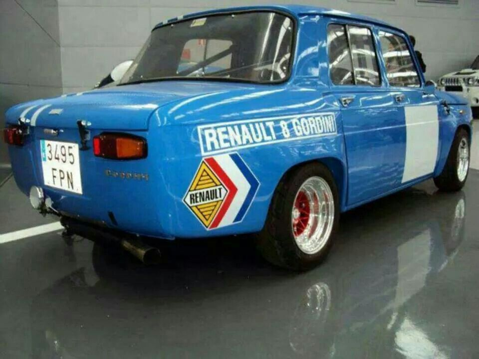 renault r8 gordini classic garage pinterest cars vintage racing and fiat abarth. Black Bedroom Furniture Sets. Home Design Ideas