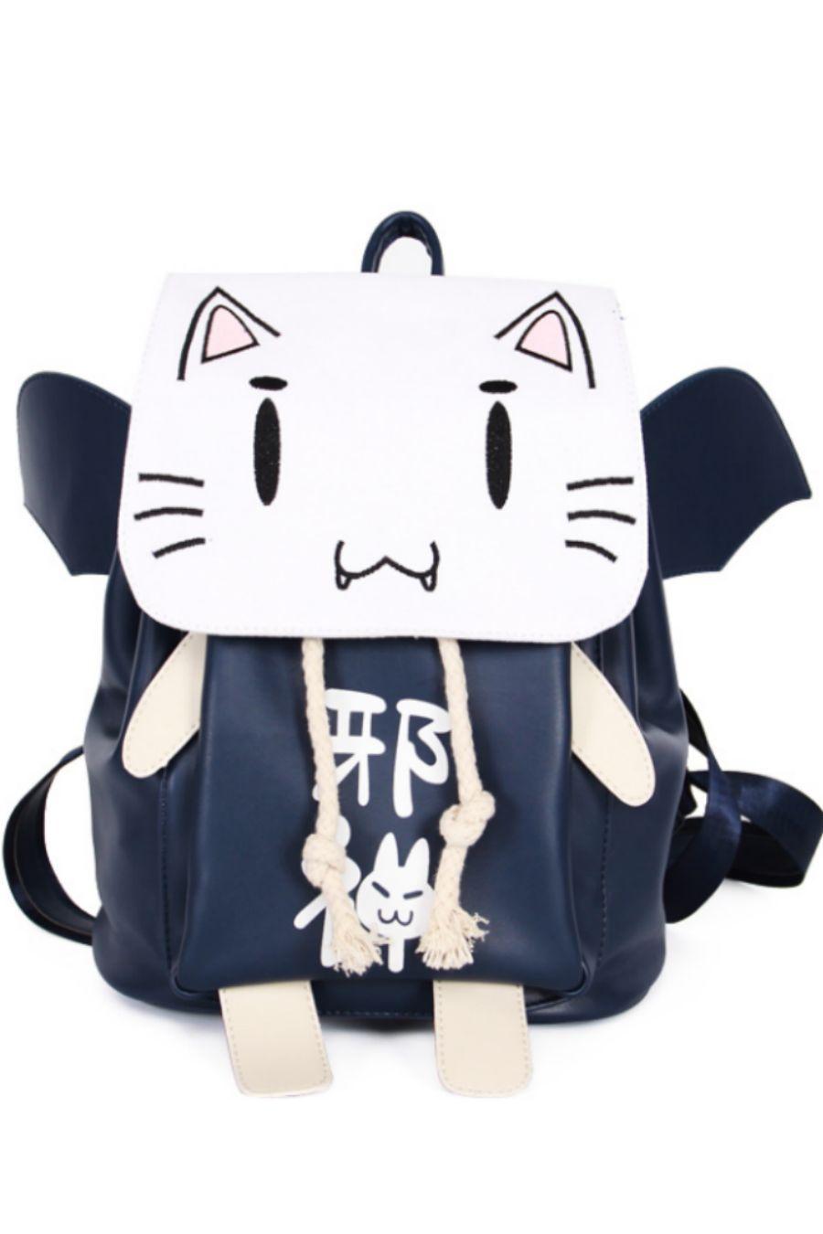 Ao no Kanata no Four Rhythm Anime Cat Backpack