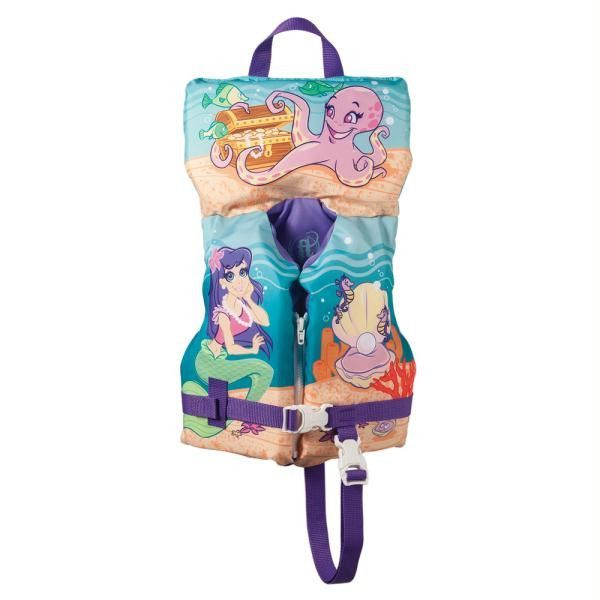 Full Throttle Character Vest - Infant-Child up to 50lbs - Mermaid