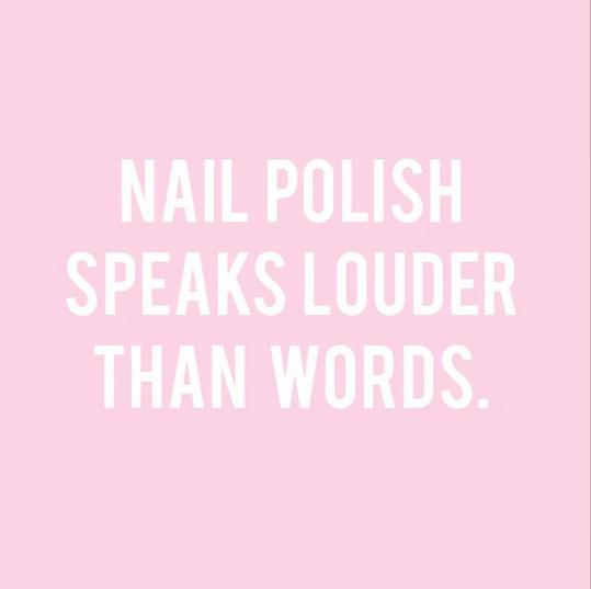 Manicure Monday The Secret To A Perfect Manicure Manicure Quotes Nail Tech Quotes Nail Polish Quotes