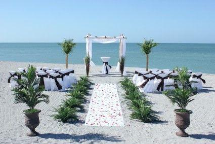 Jewish Chuppah Beach Wedding Package Florida