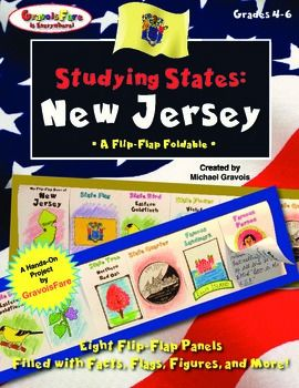 Studying States New Jersey Facts Flags State Symbols And More