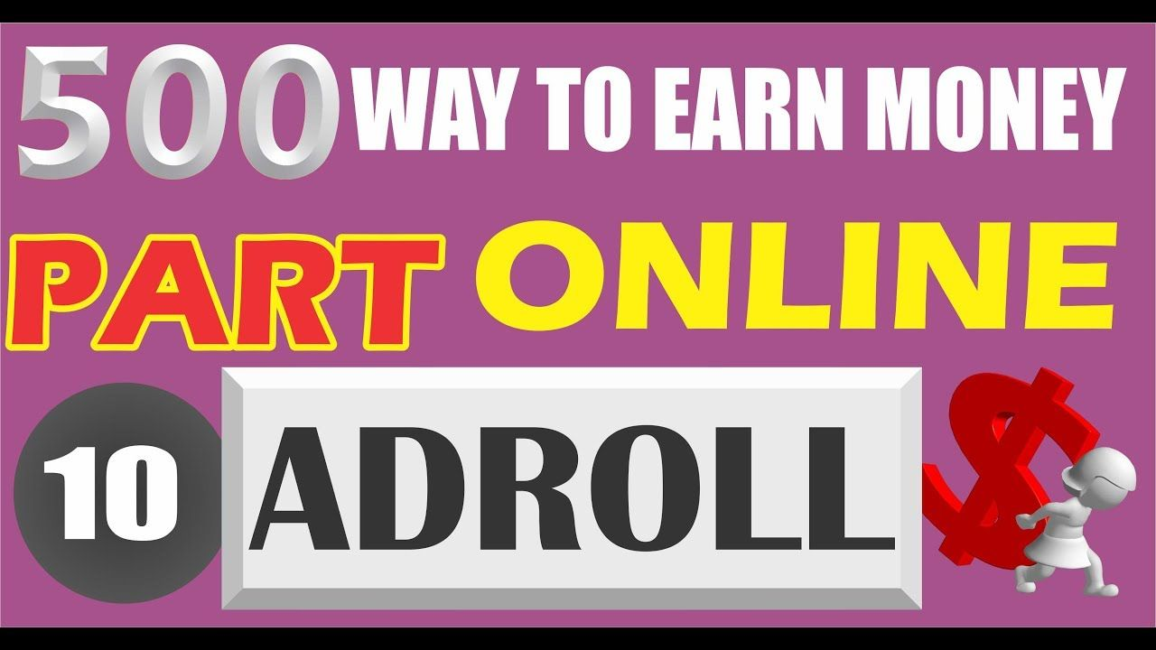 Earn Money With Adroll With Images Earn Money Online Earn