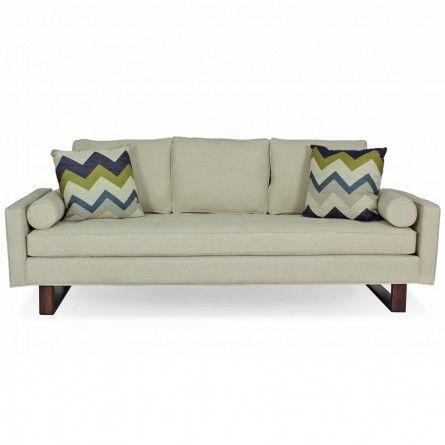 JONATHAN LOUIS BENNETT LINDY NATURAL SOFA $999.99 Gallery Furniture  sc 1 st  Pinterest : jonathan louis bennett chaise - Sectionals, Sofas & Couches