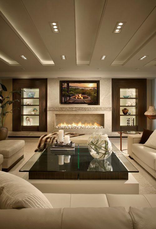 80 Ideas For Contemporary Living Room Designs  Modern Interiors Gorgeous Modern Design Of Living Room Decorating Inspiration