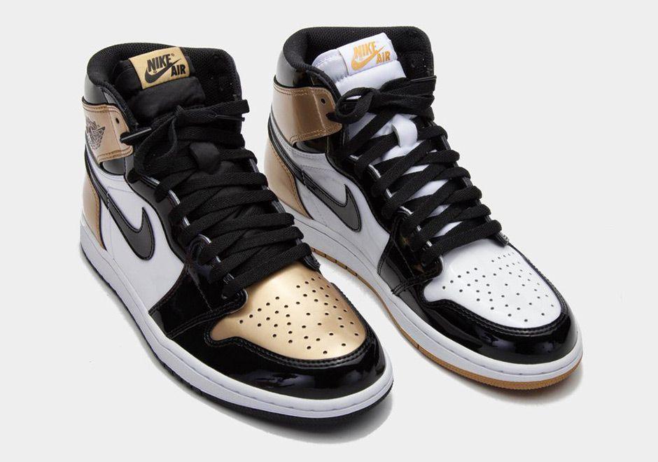 Sneakers News Air Jordan 1 Top 3 Black Gold Releasing During