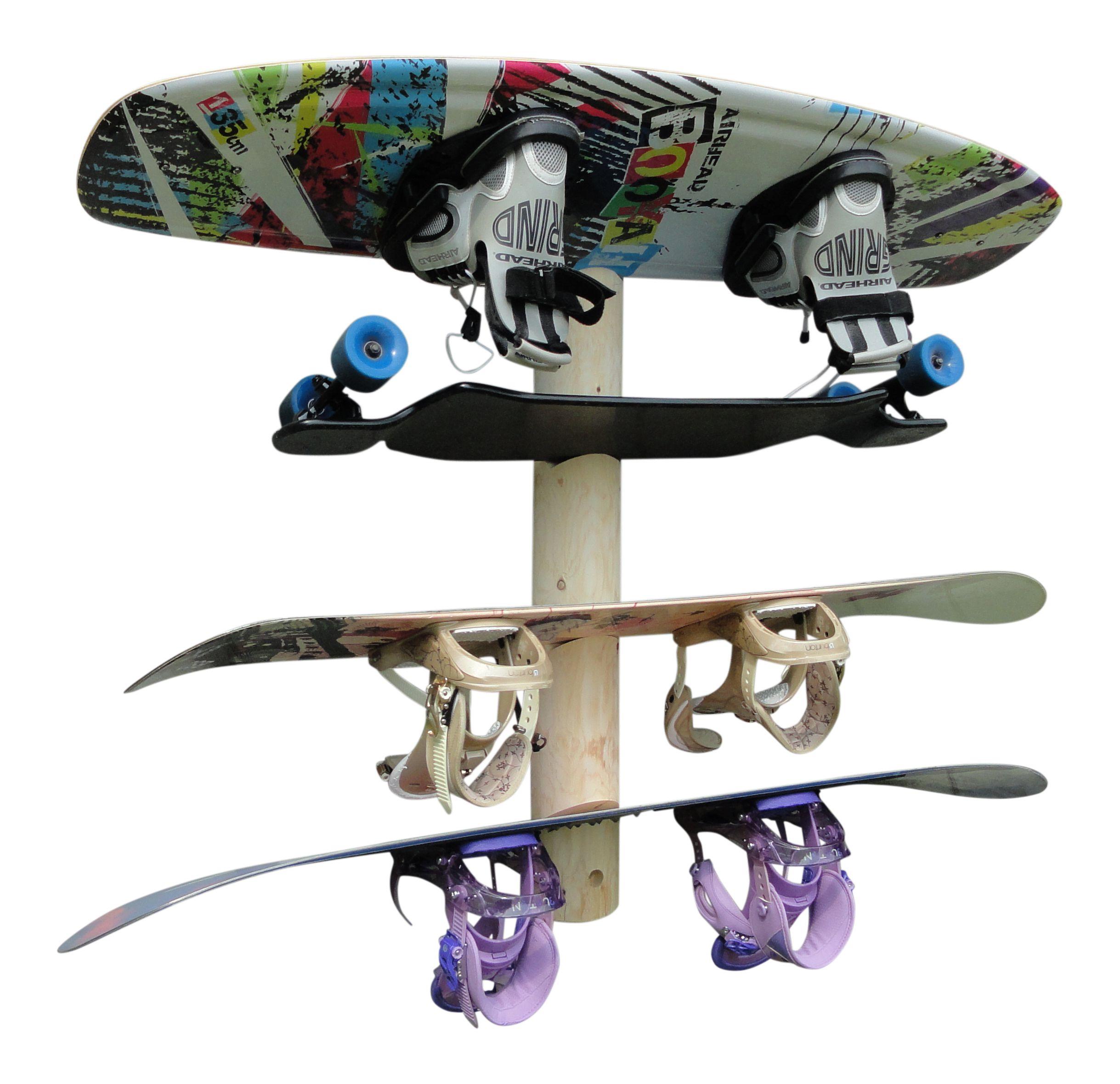 4place snowboard wall rack hanger buy online hang