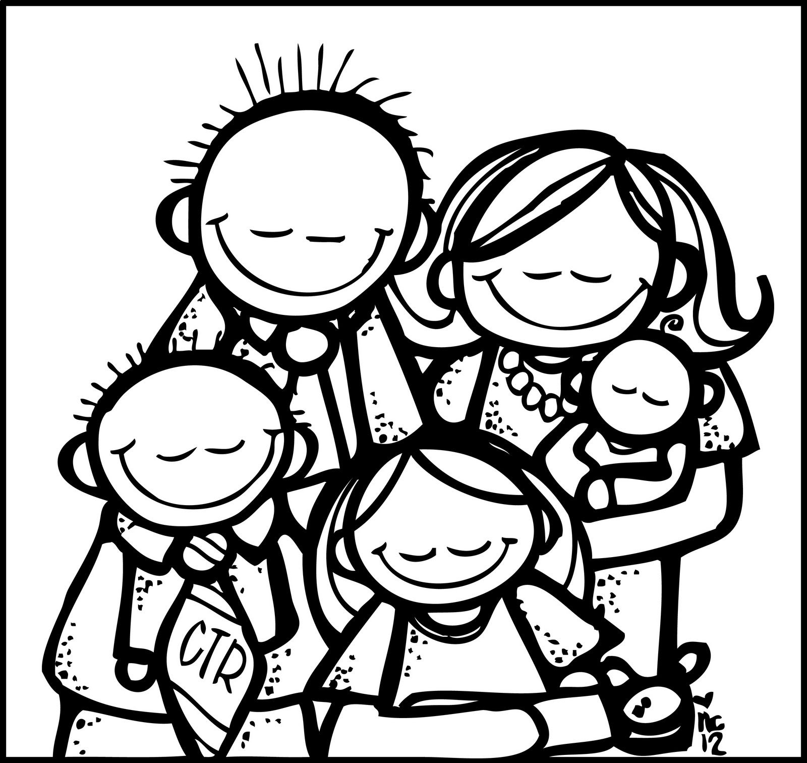 Melonheadz LDS illustrating: family prayer | Church Ideas ...