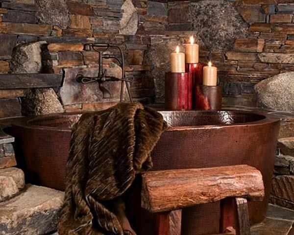Hand Hammered Copper Bathtubs Copper Sinks Online Spaaah