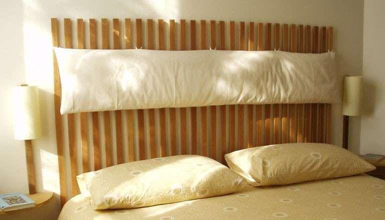 Realizzare una testata letto fai da te - Testata in legno | Cameras ...