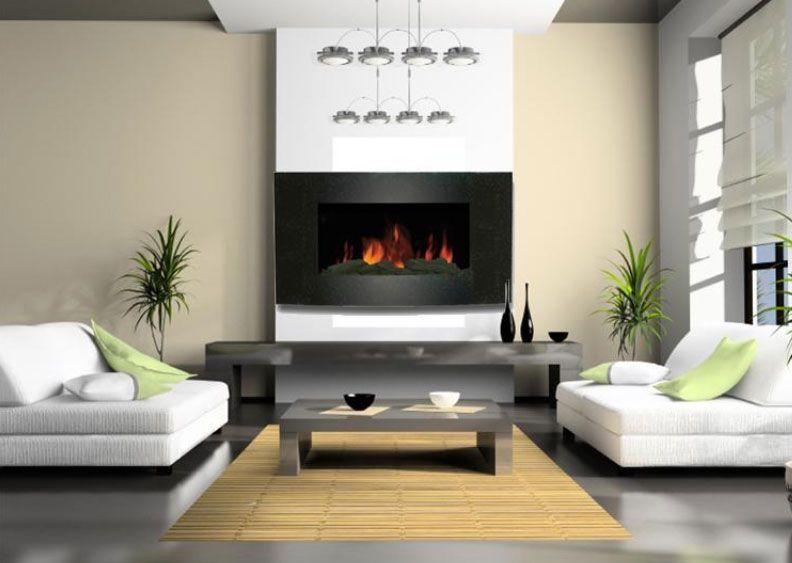 Chimenea electrica chimeneas pinterest chimeneas - Adaptar chimenea para calefaccion ...