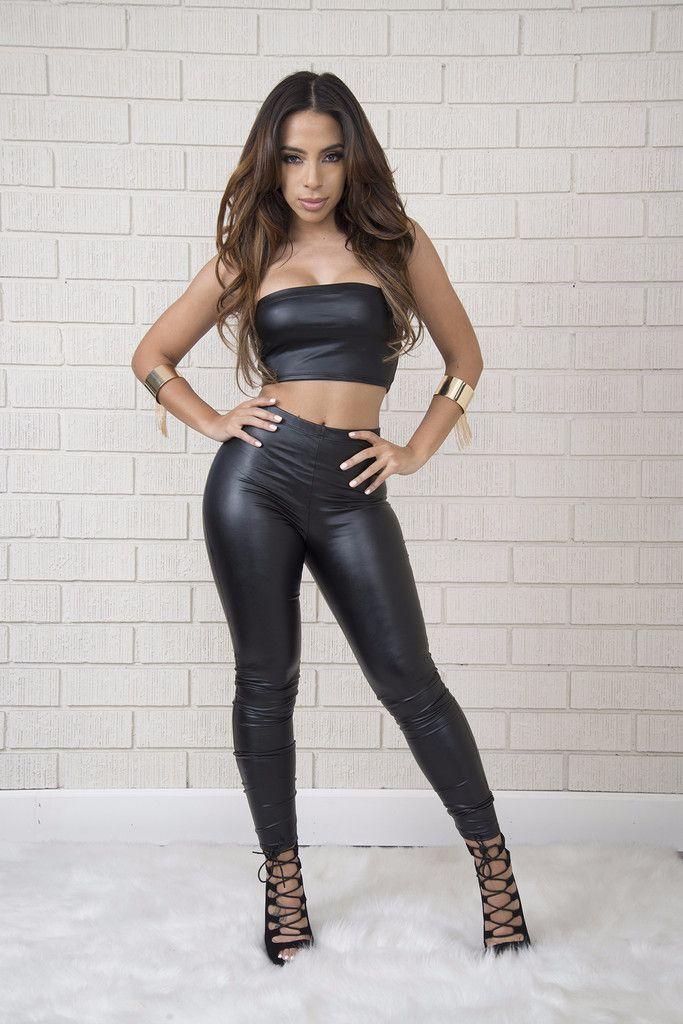2f6974f2df155 Fashion Nova Tops · Wet Look Leggings, Shiny Leggings, Leather Leggings, Black  Leggings, Leggings Are Not