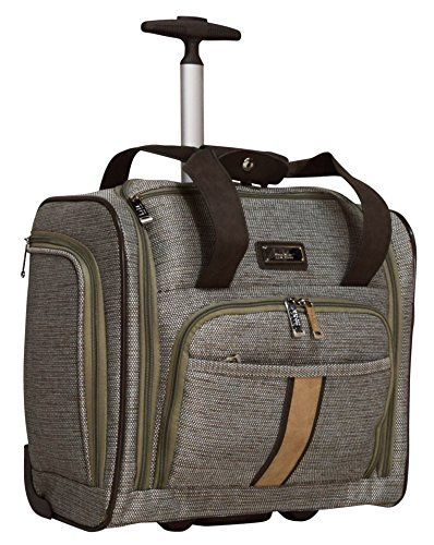 Luggage Sets Collections Nicole Miller Cameron Collection Carry On Under Seat Bag Tan You Can Find More Details By Visiting The Image Link