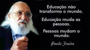 Resultado De Imagem Para Movimento Escola Aberta Paulo Freire