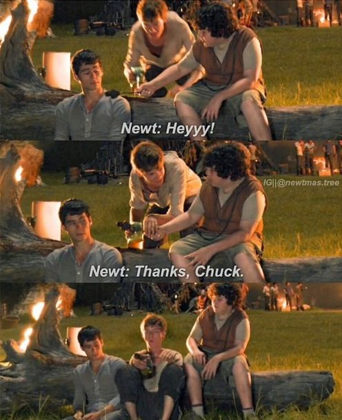 Actually Newt just steals Thomas from Chuck