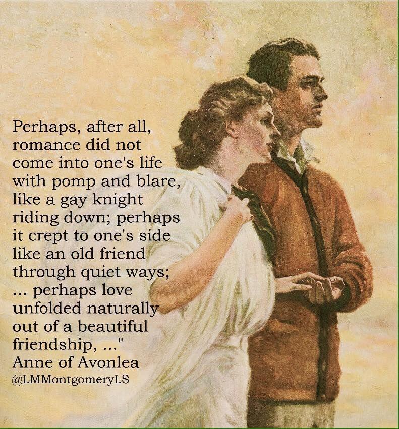 Mmmmmmmmm So Romantic Anne Of Avonlea Green Gables Anne Of